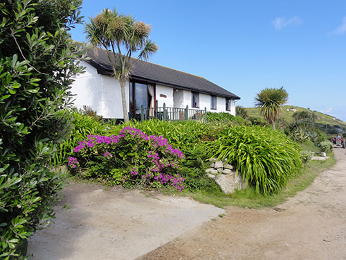 Soleil D'or Guest House in Bryher Isles of Scilly