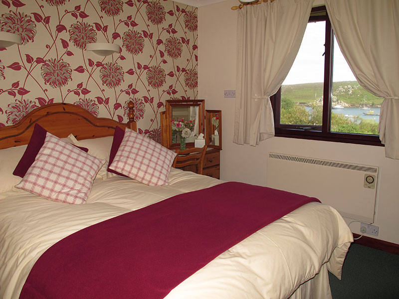 Guest bedroom at Soleil D'or Guest House in Bryher Isles of Scilly